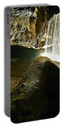 Waterfall Of The Caverns Portable Battery Charger