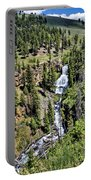Waterfall On Lava Creek 1 Portable Battery Charger