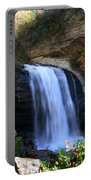 Waterfall On The Cliff Edge Portable Battery Charger