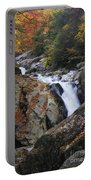 Waterfall On West Fork French Broad River Portable Battery Charger