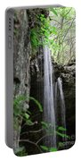 Waterfall Portrait Portable Battery Charger