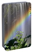 Waterfall Rainbow Portable Battery Charger