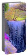 Waterfall Spring Colors Portable Battery Charger
