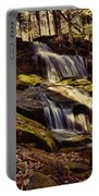 Waterfall Through The Trees Portable Battery Charger