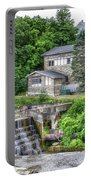 Waterfalls Cornell University Ithaca New York 04 Portable Battery Charger