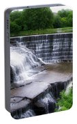 Waterfalls Cornell University Ithaca New York 05 Portable Battery Charger