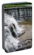 Waterfalls Cornell University Ithaca New York 06 Portable Battery Charger