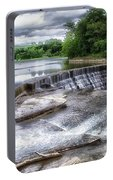 Waterfalls Cornell University Ithaca New York 07 Portable Battery Charger