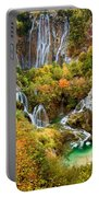 Waterfalls In Plitvice Lakes National Park Portable Battery Charger