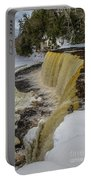 Waterfalls Upper Tahquamenon -6049 Pure Michigan Portable Battery Charger