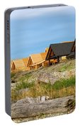 Waterfront Condominiums On The Beach Of Semiahmoo Bay Portable Battery Charger