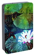 Waterlilies 19 Portable Battery Charger