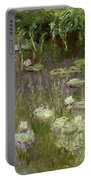 Waterlilies At Midday Portable Battery Charger