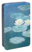 Waterlilies Evening Portable Battery Charger
