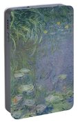 Waterlilies Morning Portable Battery Charger