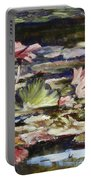 Waterlilies Tower Grove Park Portable Battery Charger