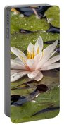 Waterlily On The Water Portable Battery Charger