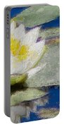 Waterlily Reflections Portable Battery Charger