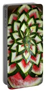 Watermelon Art Portable Battery Charger