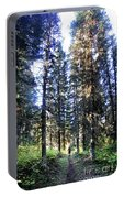 Waterton Valley Trail Detail - Glacier National Park Portable Battery Charger