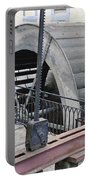 Waterwheel Detail Portable Battery Charger