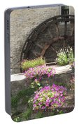 Waterwheel In Bayeux Portable Battery Charger
