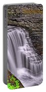 Watkins Glen State Park Waterfall 006 Portable Battery Charger