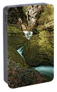 Watkins Glen Waterfall Portable Battery Charger
