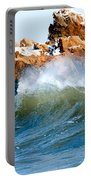 Wave Mirrors Rock Portable Battery Charger