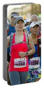 Wave Start At Pikes Peak Marathon And Ascent Portable Battery Charger