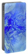 Waves Of Blue Portable Battery Charger