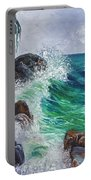 Waves On Maui Portable Battery Charger