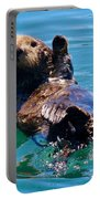 Waving Otter Portable Battery Charger