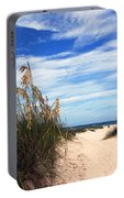 Way Out To The Beach Portable Battery Charger