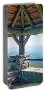 Wayah Bald Observation Tower - Macon County, North Carolina Portable Battery Charger