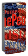 We The People Of The United States Of America Portable Battery Charger