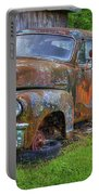 Wears Valley 1954 Gmc Wears Valley Tennessee Art Portable Battery Charger