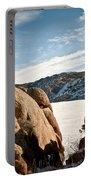 Weathered - Pathfinder Reservoir - Wyoming Portable Battery Charger