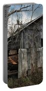 Weathered Old Abandoned Barn Portable Battery Charger