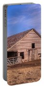Weathered Old Barn Portable Battery Charger
