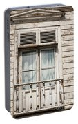 Weathered Window Balcony Portable Battery Charger