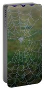 Web After The Storm Portable Battery Charger