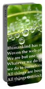 Web Of Life Portable Battery Charger