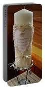Wedding Candle  Portable Battery Charger
