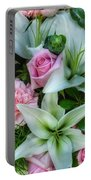Wedding Flowers Portable Battery Charger