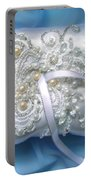 Wedding Ring Pillow. Ameynra Beadwork Portable Battery Charger