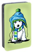 Wee Winter Westie Portable Battery Charger