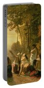 Weeping Of The Daughter Of Jephthah Portable Battery Charger