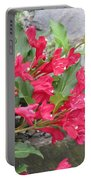 Weigela Florida Red Prince Portable Battery Charger