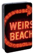 Weirs Beach Icon Portable Battery Charger